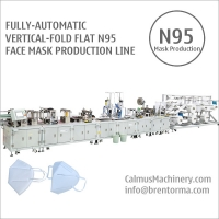 Cheap Fully-automatic N95 Respirator Making Machine Mask Production Line for sale