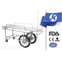 Cheap SKB038 CE ISO Foldable Patient Stretcher Srolley With I . V . Pole for sale