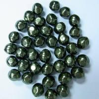 Faux glass baroque pearl beads for jewelry