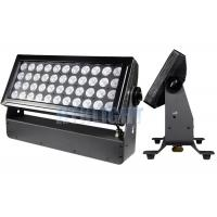 Cheap P·5 POI 44 * 10W RGBW LED Flood Light Wall Washer For Tower , Bridge , Building for sale