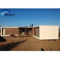 Cheap Steel Structure Modern prefabricated Houses , Uruguay Bungalow Home Plans for sale