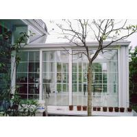 Cheap White Color Aluminium Glass Greenhouse Luxury Imperial Design System wholesale