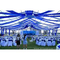 Cheap Clear Fabric Aluminum Alloy Profile Outdoor Party Tents Rustless Frame And Waterproof Cover wholesale