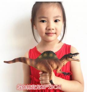 Cheap Customized Dinosaur Model Toys L28*W7.5*H13 Plastic Jurassic Park Spinosaurus Toy for sale