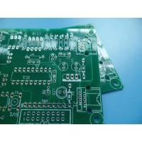 Buy cheap 2oz (70um) Copper Double Sided HASL Lead Free PCB 1.6mm Thick Green Solder Mask Small Runs to Mass Production from wholesalers