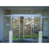 Cheap Automatic Sliding Door With Aluminum Frame, Automatic Aluminum Office Door, Glass door for sale