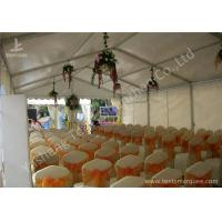 Cheap 6M Modular Design Commercial Event Tents , Outdoor Event Canopy With Soft PVC Windows wholesale