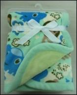 Buy cheap Bilayer Baby Blanket (ABSY-007) from wholesalers