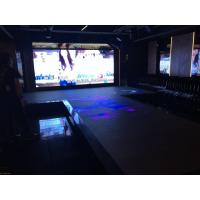 Cheap Aluminum SMD3535 IP65 Led Dance Floor Video Transparent PC Cover 1920HZ High Refresh for sale