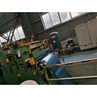 China 25 Ton Stainless Steel Slitting Machine / Metal Slitter Machine For Construction on sale