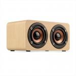 Cheap Wooden Wireless Bluetooth Speaker Portable HiFi Shock Bass Soundbar for sale
