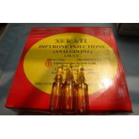 Buy cheap GMP Certified Best Quality Dipyrone/Analgin/Metamizole sodium Injection, 500mg from wholesalers