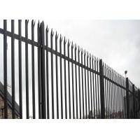 Cheap Triple Point Hot Galvanized Palisade Fencing for sale