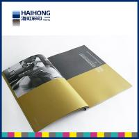 Cheap Elegant matte coated art paper printed magazine with sewn and glue bound Binding for sale