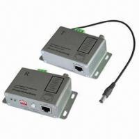 Cheap Active UTP Video Baluns, Power-video-data Signals are Routed Via UTP and RJ-45, UTP Video Balun for sale