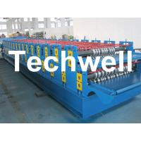 Cheap 0 - 15m/min Forming Speed Double Layer Forming Machine For Roof Wall Panels for sale