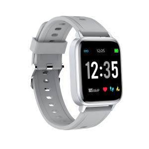 Cheap Narrow Border Glass Mirror 180mAh IP68 Waterproof Smart Watch for sale