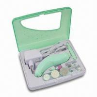 Cheap Rechargeable Manicure and Pedicure Set, Suitable for Toes, Fingernails and Treatment of Callous Skin for sale