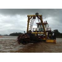Cheap Self Propelled Cutter Suction Dredger High Efficiency River Lake Pond Applied for sale
