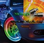 Cheap Led wheel light Red,Green,Blue,RGB flash decoration for sale