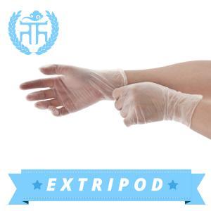 China china supplier white powder free FDA vinyl examination gloves on sale