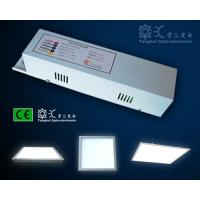 Cheap Aluminum alloy 595 x 595mm 40W square Emergency LED Panel Light IP44 100lm / w for sale