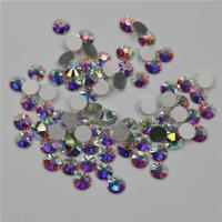 Cheap Grade AAAAA Flat Back Rhinestone Beads Good Stickness With Shinning Facets for sale