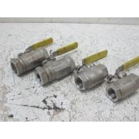 """Cheap Water / Oil / Gas Full bore Floating Ball Valve As NACE Compliance , Size By  1/2"""" # 800 SW for sale"""