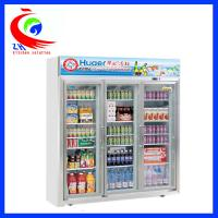 Cheap Upright Beverage Showcase Refrigeration Equipment Refrigerator Display Cooler for sale