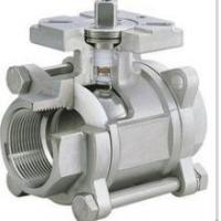 Cheap 3-pc stainless steel ball valves full port 1000wog BSPP NPT ISO-5211 DIRECT MOUNTING PAD for sale