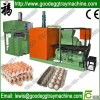 Cheap Paper egg tray pulp moulding machine for sale