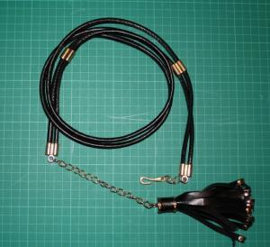 Cheap Black Tassels PU waist chain , 1.5cm cloth belts for women metal and PU for sale