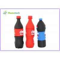 Cheap Pepsi bottles PVC Customized USB Flash Drive / gift Personalised Usb Memory Stick wholesale