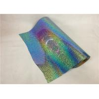 Quality Washable Hologram Heat Transfer Vinyl Cold Peeling For Fashion T - Shirt wholesale