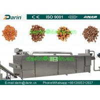 Cheap Durable dog food machinery  , fish feed extruder machine Stainless Steel for sale