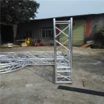 Cheap Multi - Shape Safe Aluminum Box Truss , Alloy 6082-T6 Screw Truss Tent System for sale