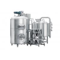 Cheap Stainless Stain Pub Brewing Systems 500L Semi-Automatic Control For Bar / Pub for sale