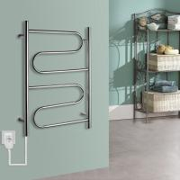 Cheap China factory good quality 60w Stainless Steel Wall Mounted Electric Heated Towel rail For washroom for sale