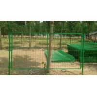 Cheap Durable Metal Mesh Fencing / Airport Security Fence For Protection Orchard for sale