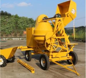 Cheap 500L Mobile Portable Air-Cooled Diesel Engine Concrete Mixer,Self Loading Concrete Mixer for sale