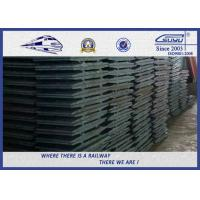 """Quality 7 - 3/4""""x 14"""" Hot Rolled Double Ribs Carbon Steel Railroad Tie Plate  AREMA Standard wholesale"""