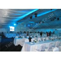 Cheap 20M Width Full Line Decorated Outdoor Event Tent with Aluminum Alloy Main Frame wholesale