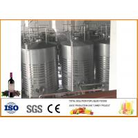 Cheap Mulberry Fruit Wine Fermentation Equipment 304 Stainless Steel Material 12 Months Warranty for sale