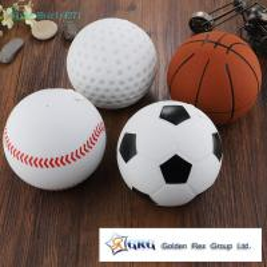 Cheap Creative basketball wireless mini Bluetooth speaker spherical football basketball baseball golf small stereo outdoor for sale