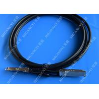 Cheap 40Gb/S QSFP28 Direct - Attach Copper Serial Attached SCSI Cable For Switch 2 Meter wholesale