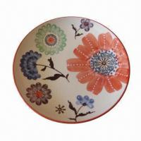 Cheap 8-inch Ceramic Plate with Round Shape for sale