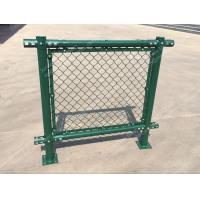 Cheap PVC Chain Link Fence for Tennis Soccer Field Court Yard and Garden for sale