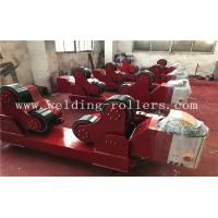 China 40Ton PU Self - Aligning  Tank Turning Rolls Wind Tower Welding Rollers on sale