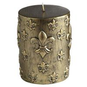 Cheap Handpaint pillar candle for sale