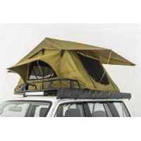 Cheap Double Layer Vehicle Top Tent , Truck Parts Jeep Wrangler Roof Rack Tent for sale